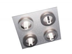 LED-Deckenleuchte Q 44x44cm