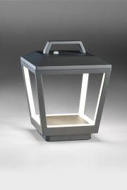 LED-Akku-Tischleuchte MATRIX anthrazit
