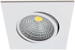 LED-Einbaustrahler MOBiDIM COB SLIM+ Q 9W 830 60° weiß