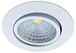 LED-Einbaustrahler MOBiDIM COB SLIM+ R 8,5W D2W 60° weiß