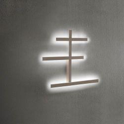 LED-Wand-/Deckenleuchte RAKE 65x52cm