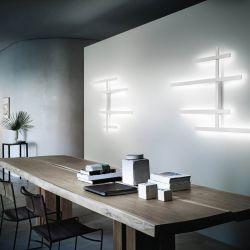 LED-Wand-/Deckenleuchte RAKE 120x91cm