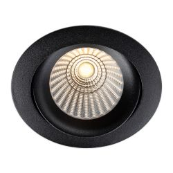 LED-Einbaustrahler DL04 weiß/schwarz