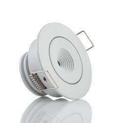 LED-Einbaustrahler MINI ONE weiß/schwarz (schwenkbar)