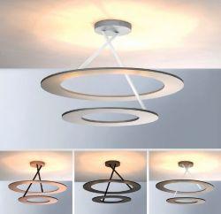 LED-Deckenleuchte STELLA D2W (2 Ringe)