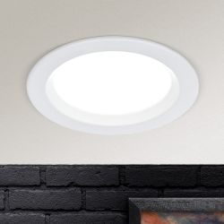 Hausmarke LED-Einbauleuchte 9cm Str 10-487 weiß
