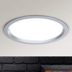 Hausmarke LED-Einbauleuchte 17cm Str 10-488 silber