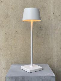 LED-Akku-Tischleuchte ORANGE ONE weiß