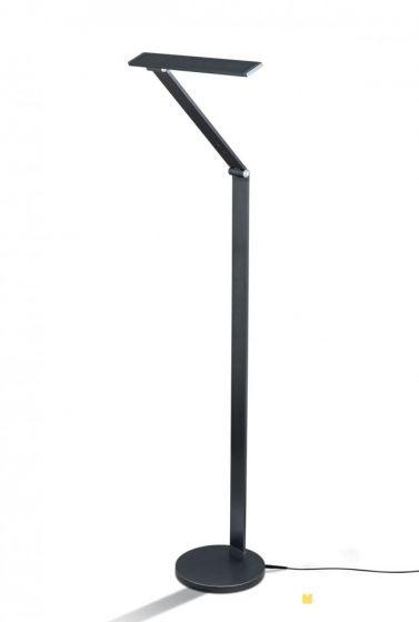 M/üller-Licht LED Stehleuchte mit Sterneffekt /& Chrom 12W warmwei/ß 3000K 103cm mit Schalter
