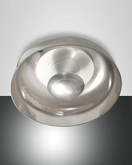 Fabas Luce LED-Deckenleuchte VINTAGE grau 3463-61-126