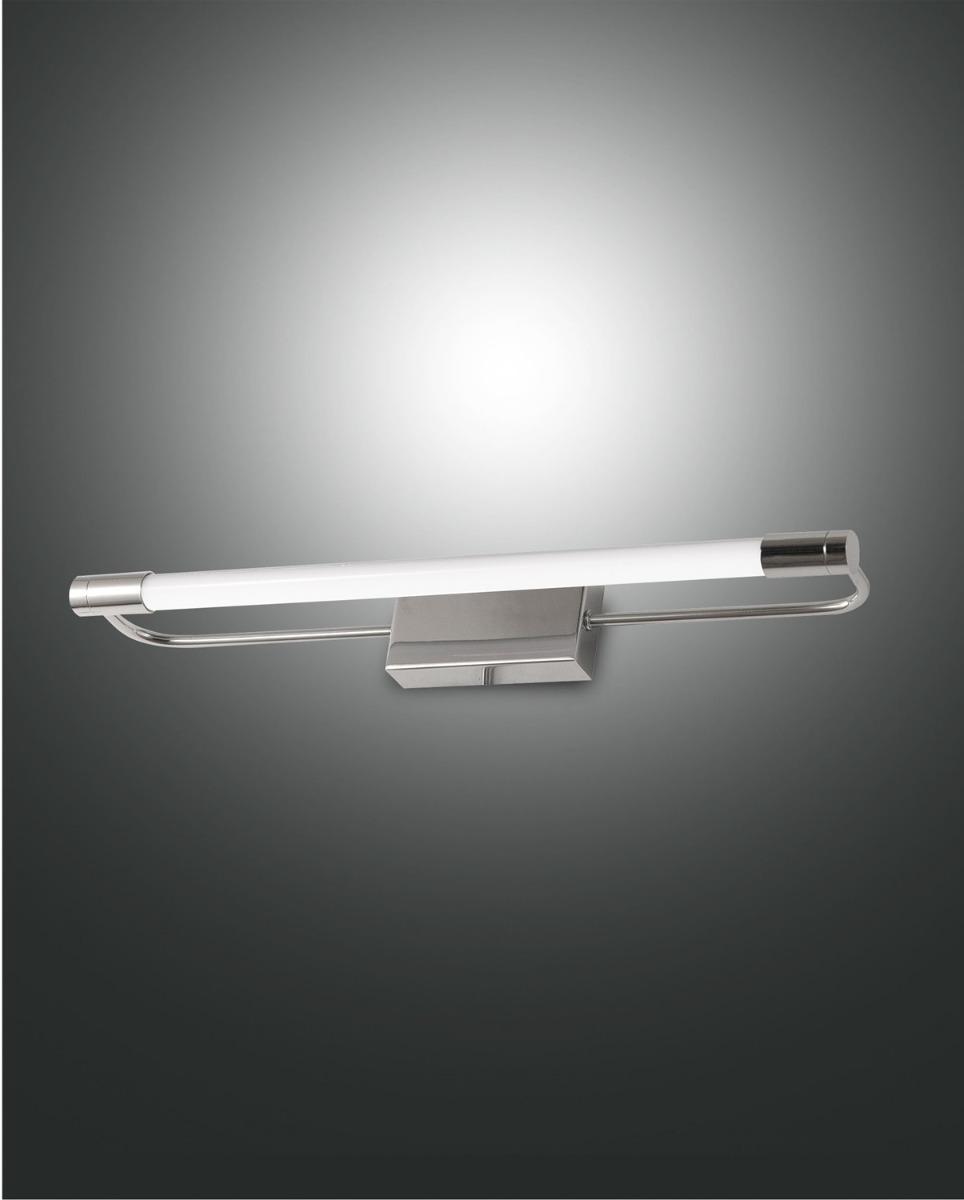 Fabas Luce LED-Wandleuchte RAPALLO 40cm Chrom 3552-21-138