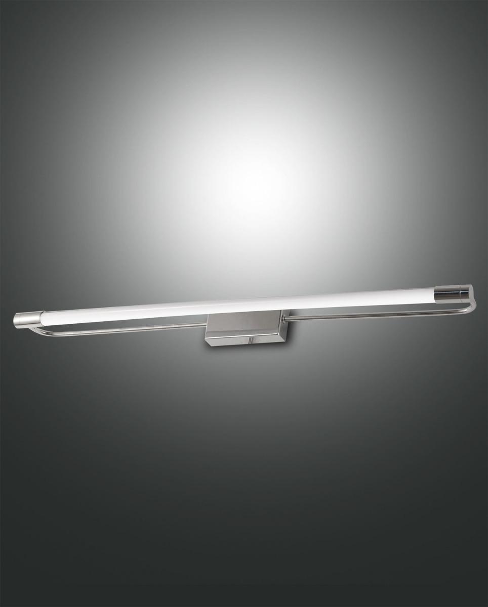 Fabas Luce LED-Wandleuchte RAPALLO 60cm Chrom 3552-26-138