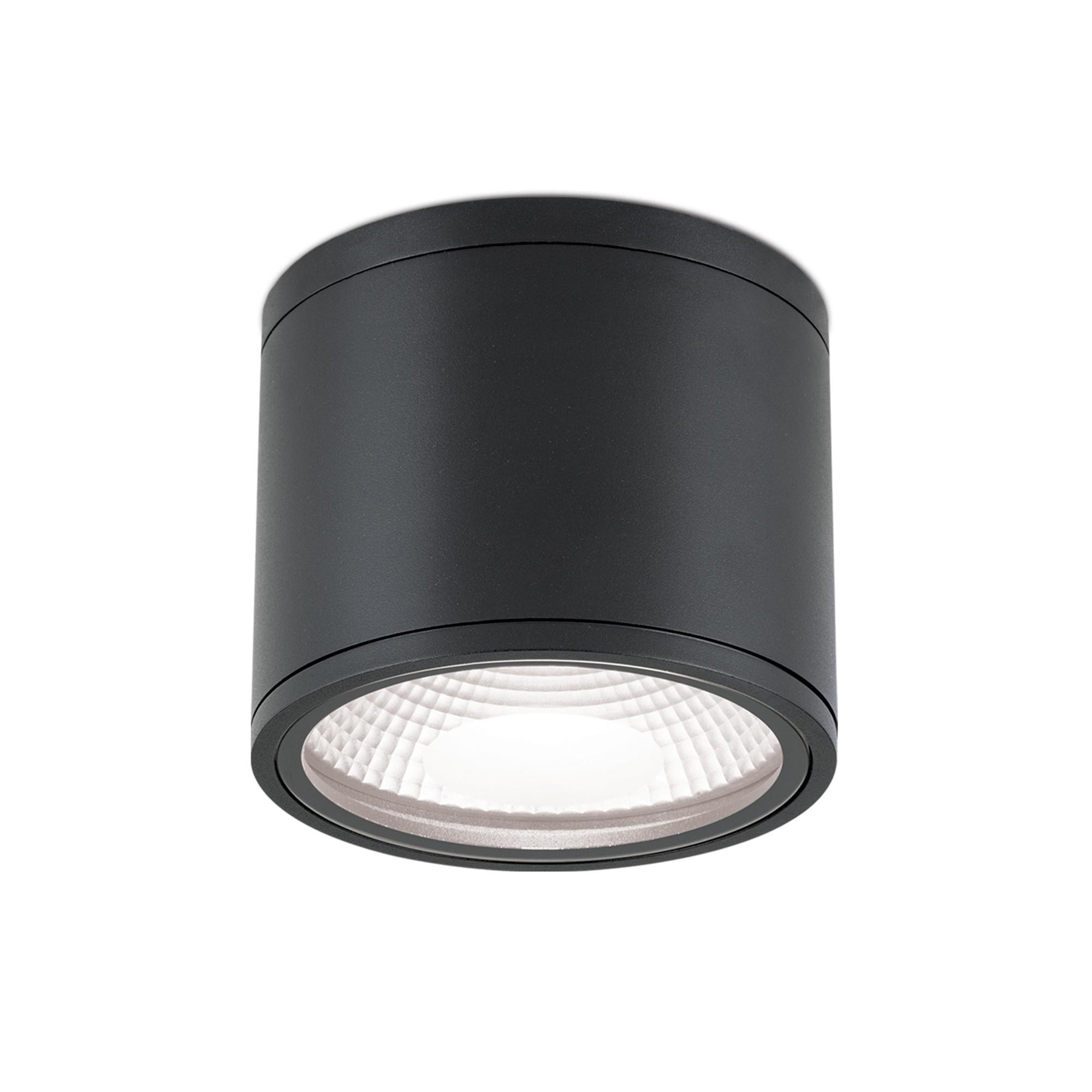 Hausmarke LED-Deckenaußenleuchte 15cm SPUTNIK schwarz DL 7-665 schwarz