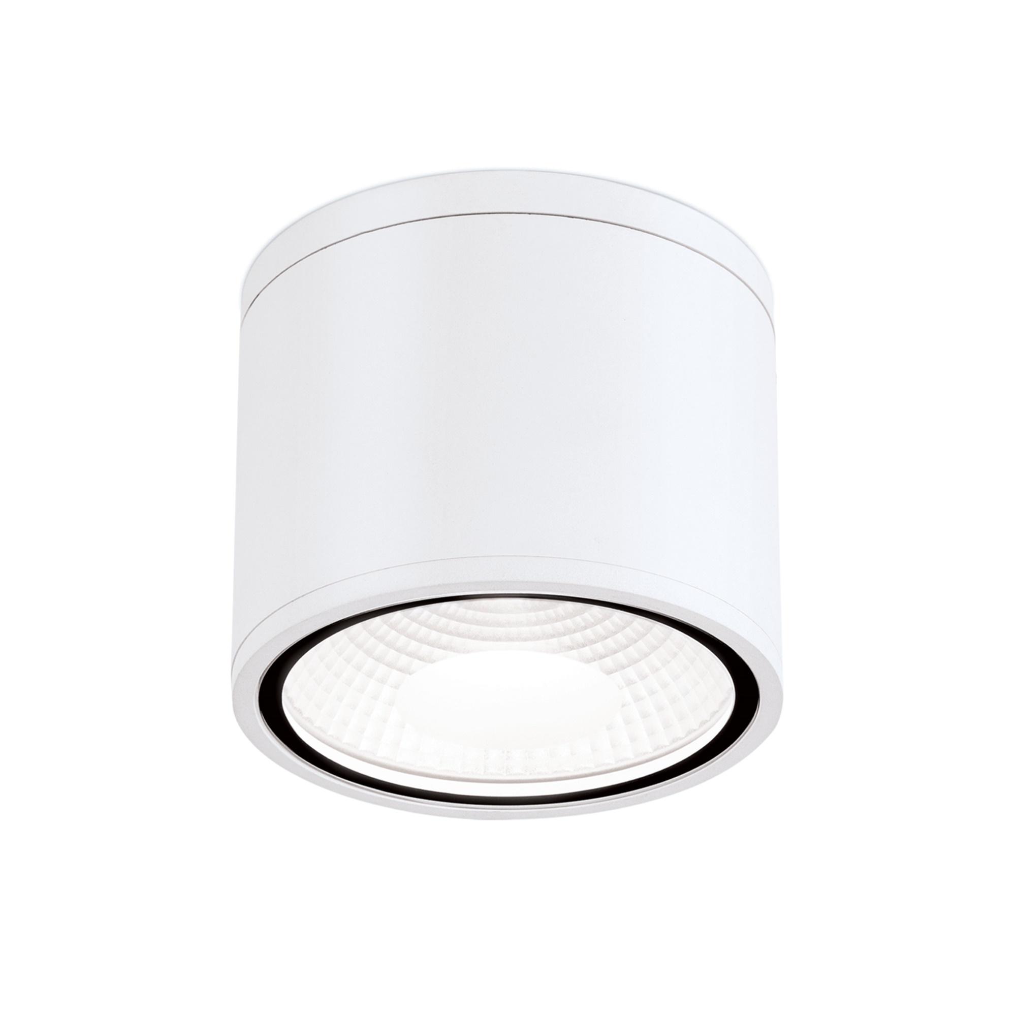 Hausmarke LED-Deckenaußenleuchte 15cm SPUTNIK weiß DL 7-665 weiß