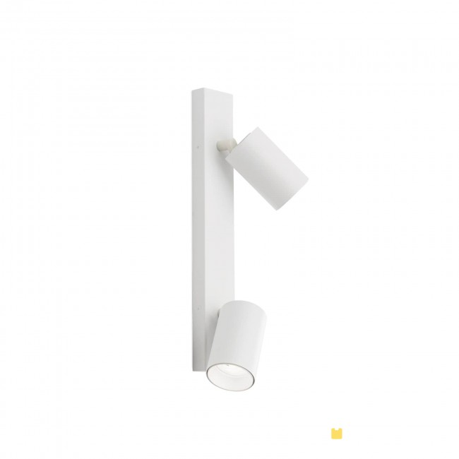 Hausmarke 2er-Spot SEAN 35cm weiß Str 10-493/2 weiß