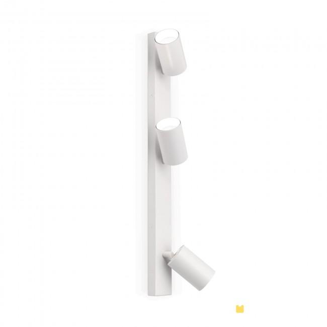 Hausmarke 3er-Spot SEAN 60cm weiß Str 10-493/3 weiß