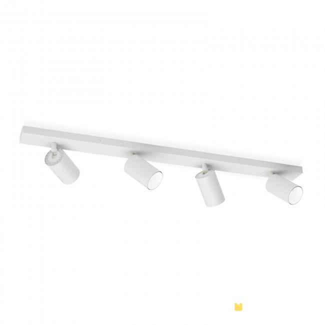Hausmarke 4er-Spot SEAN 80cm weiß Str 10-493/4 weiß