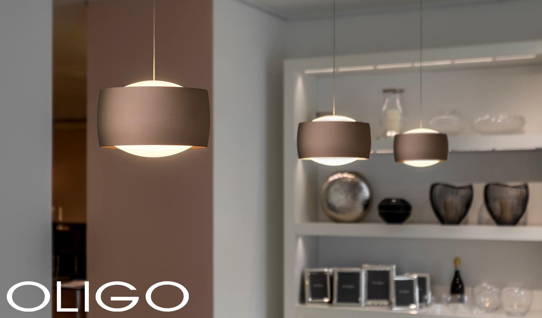 Oligo Grace Lampe mit unsichtbarer Höhenverstellung hier konfigurieren