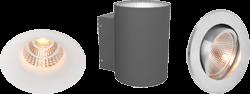 Einbaustrahler und Außenlampen von Mobilux